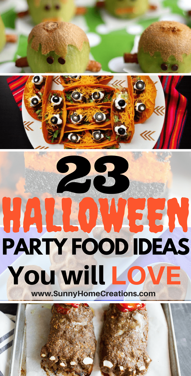 23 Halloween Party Food Ideas You Will Love
