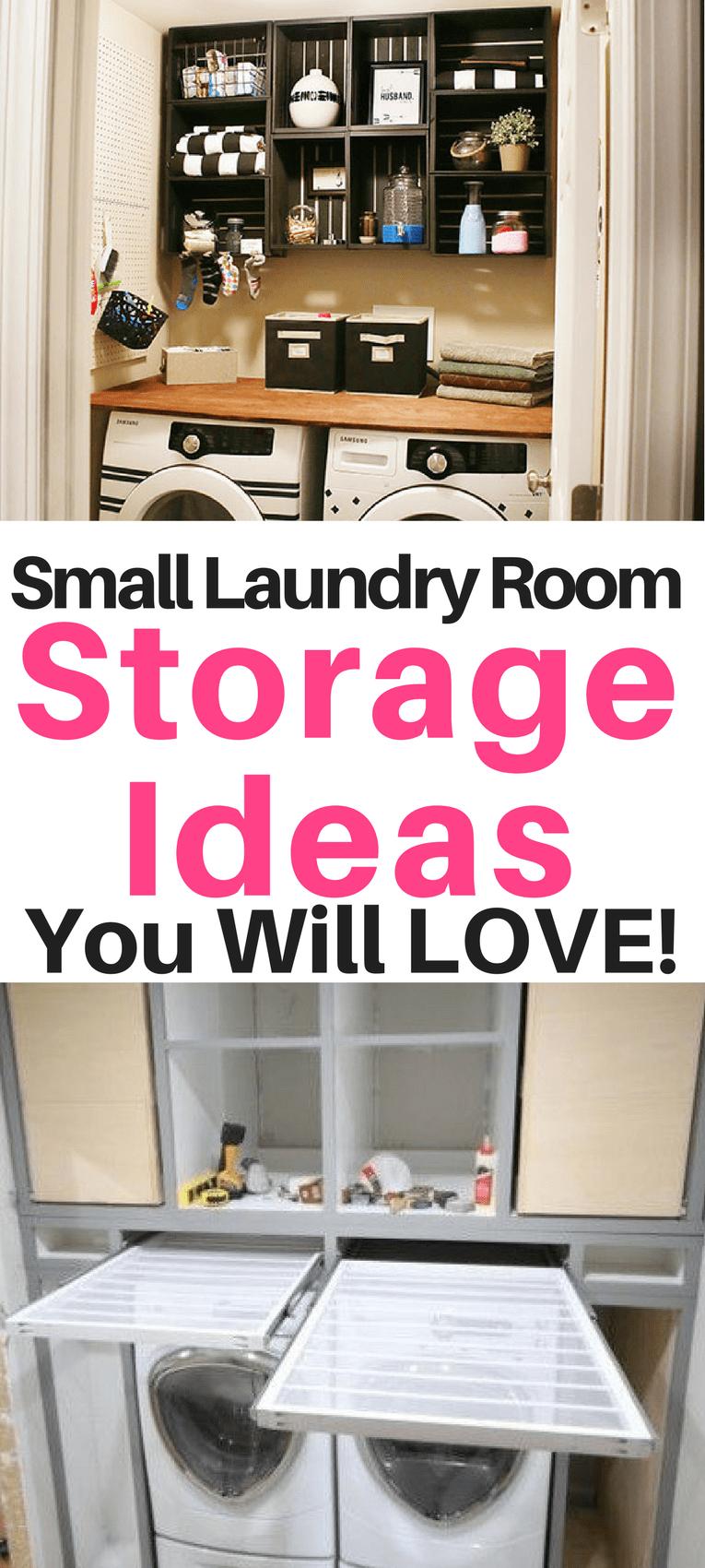 Small Laundry Room Organization Ideas Sunny Home Creations