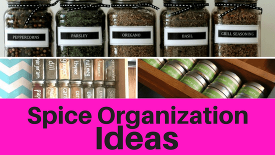 Spice Organization Ideas