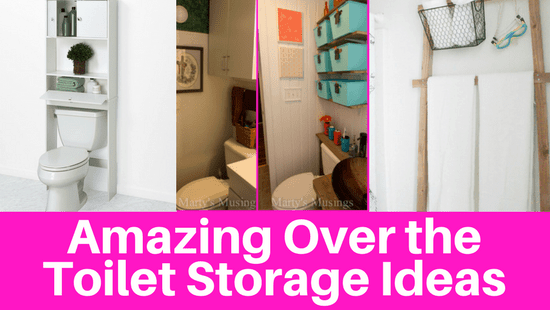 Amazing Over the Toilet Storage Ideas