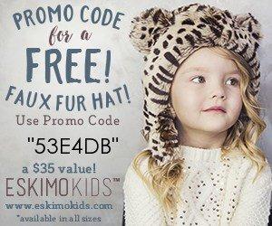 Free faux fur kid hat