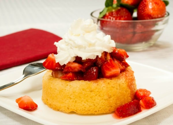 Strawberry Shortcake - the perfect 4th of July dessert