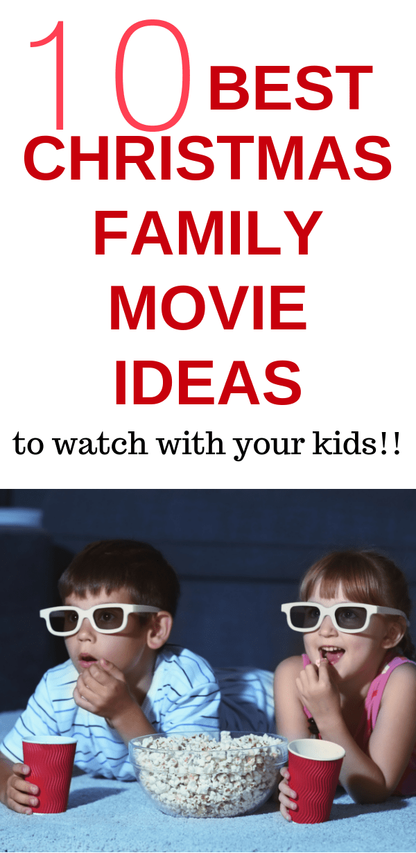 Favorite Family Movie Ideas to watch with your kids.