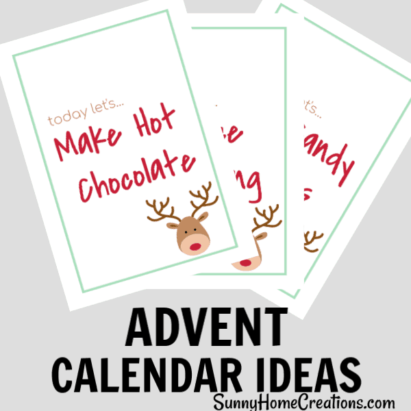 Advent Activity Ideas