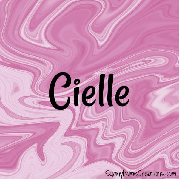 Cielle - Baby Girl Name