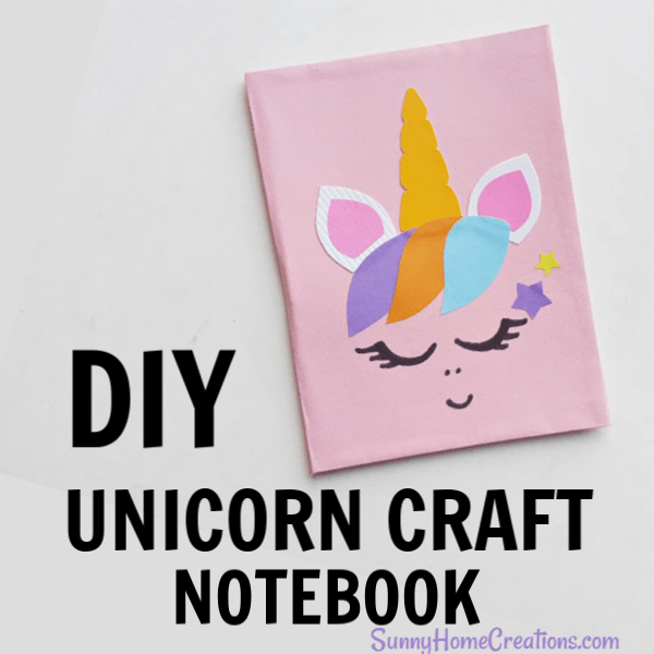 DIY Unicorn Craft Notebook