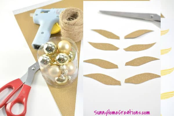 DIY Ornament Craft Supplies
