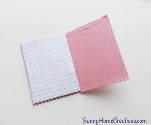 DIY School Supplies Unicorn Notebook Step 10