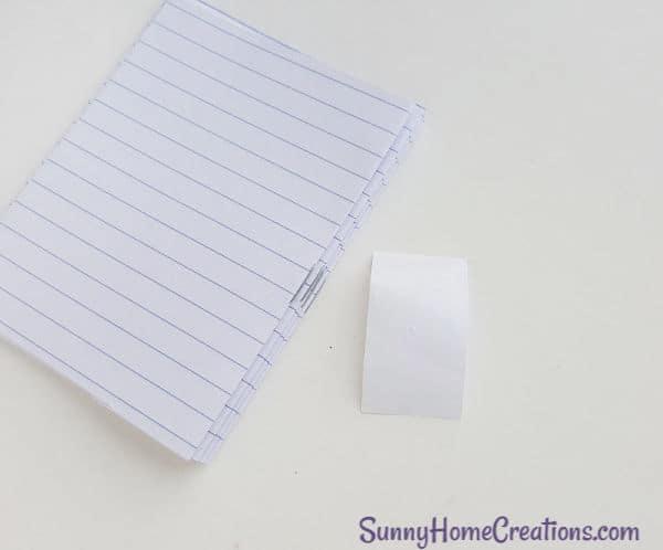 DIY Unicorn Notebook school supplies Step 5