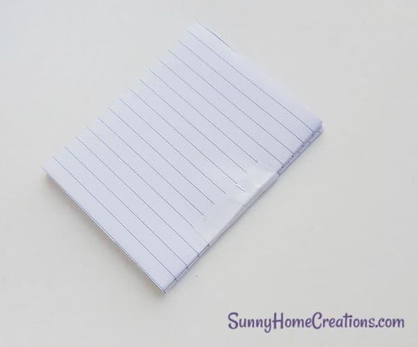 DIY Unicorn Notebook Step 6