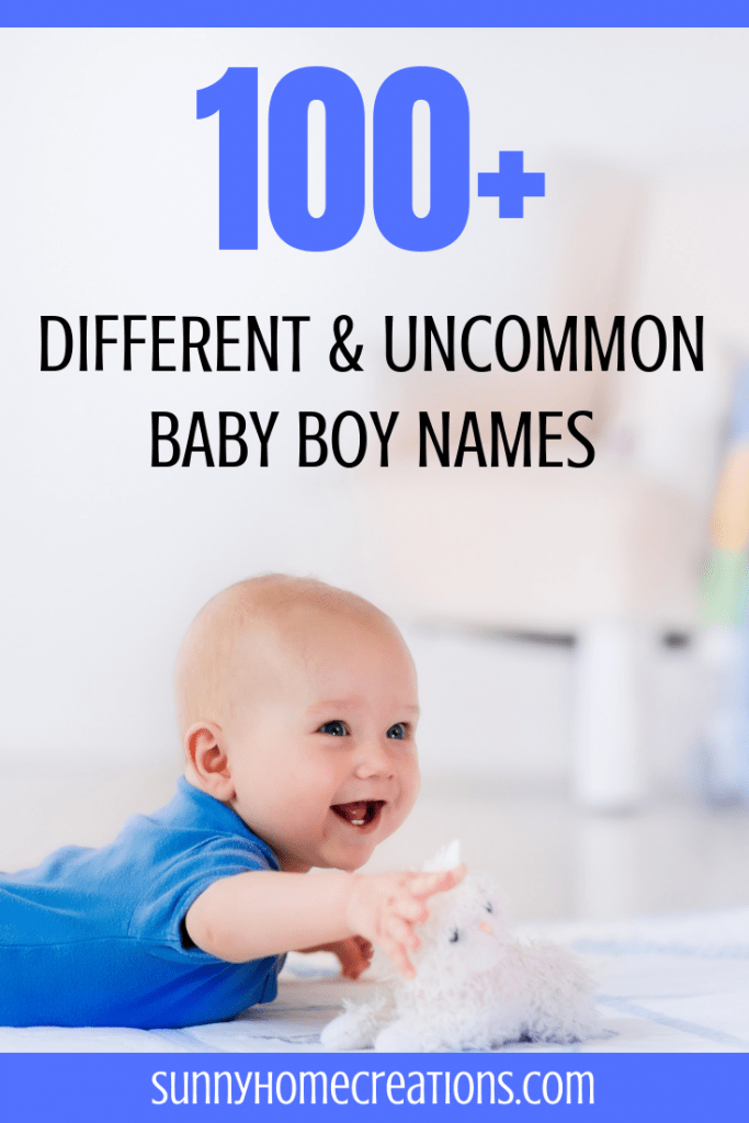 Different and Uncommon Baby Boy Names