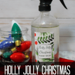 Easy DIY Holly Jolly Christmas Room Spray