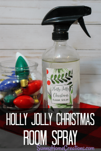 Holly Jolly Christmas Room Spray