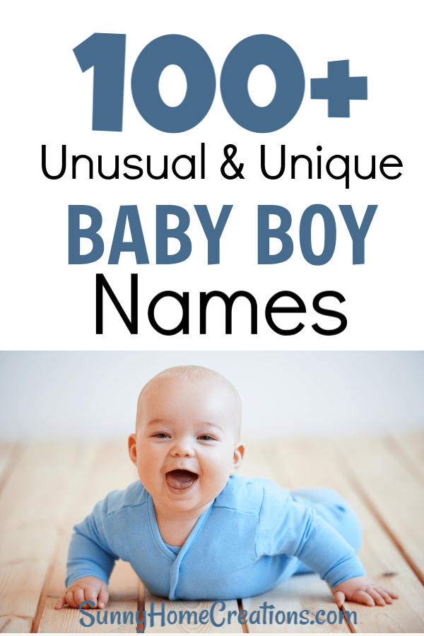 Baby Boy Names Unique