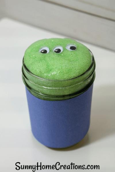 Alien Slime Recipe for Kids