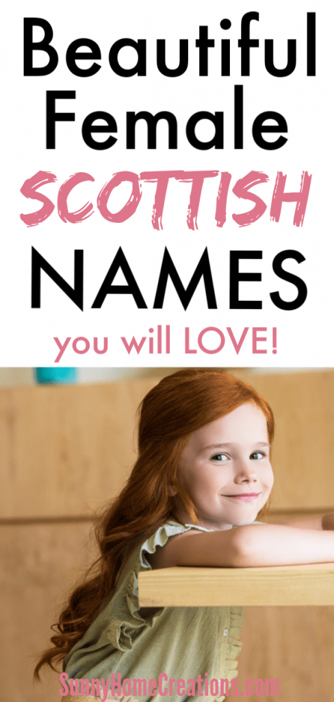 Scottish baby girl names