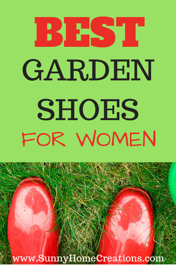 Best garden shoes for women