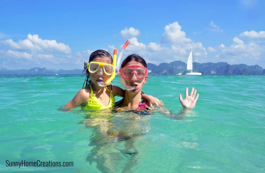 Experience Gifts for Kids - Snorkeling or Scuba Diving