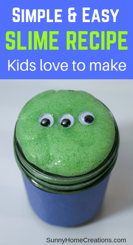 Simple & Easy slime recipe kids love to make
