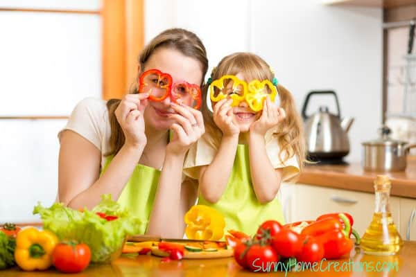 Fun cooking with kids