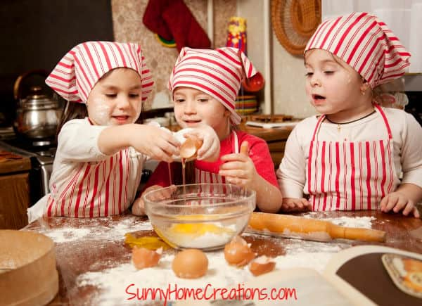 Kids Cooking Skills