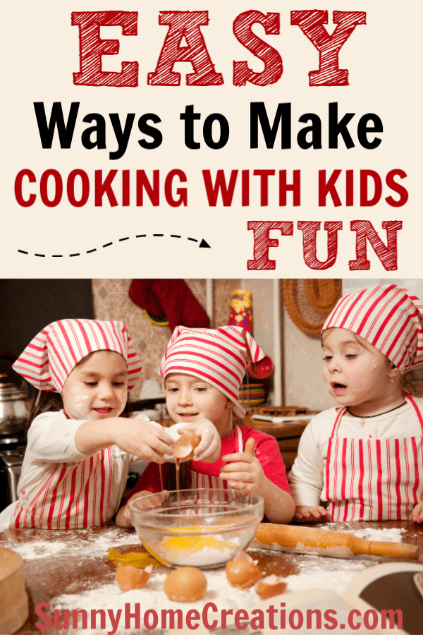 Tips to make cooking with kids fun