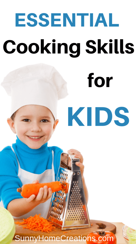 Cooking Skills for Kids by Age
