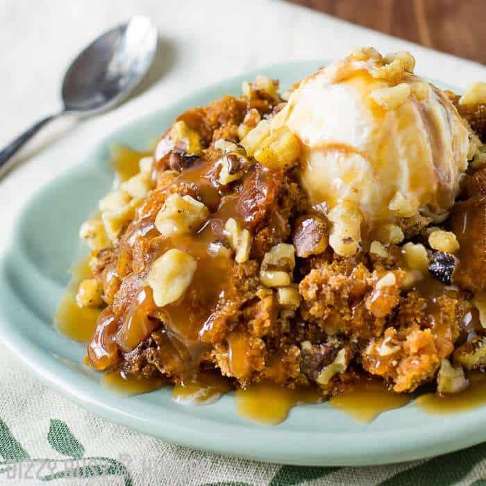 Crock Pot Pumpkin Cake Recipe