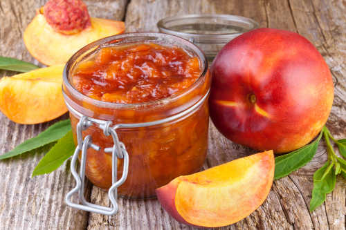 peach jam from peach trees
