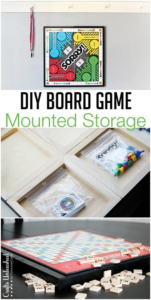 Board Game Storage Display