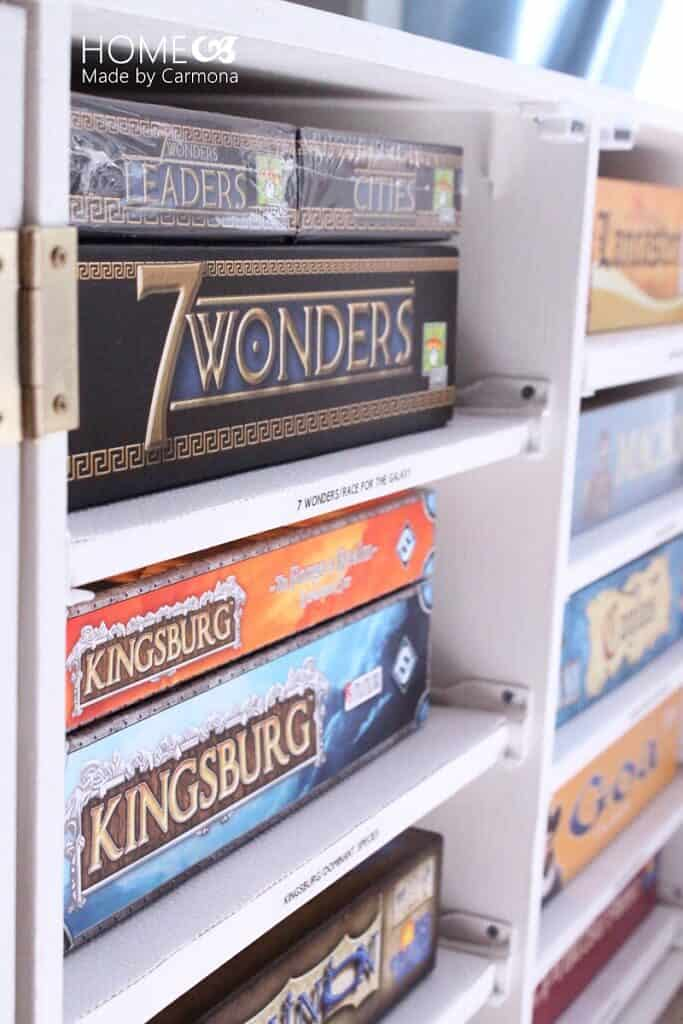 DIY Game Storage Unit