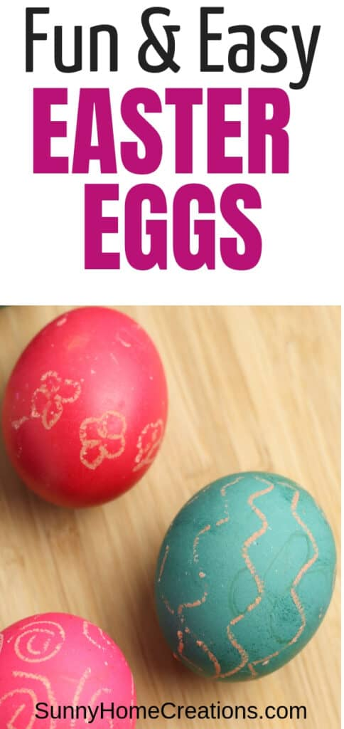 Fun & Easy Easter Eggs with Food Coloring