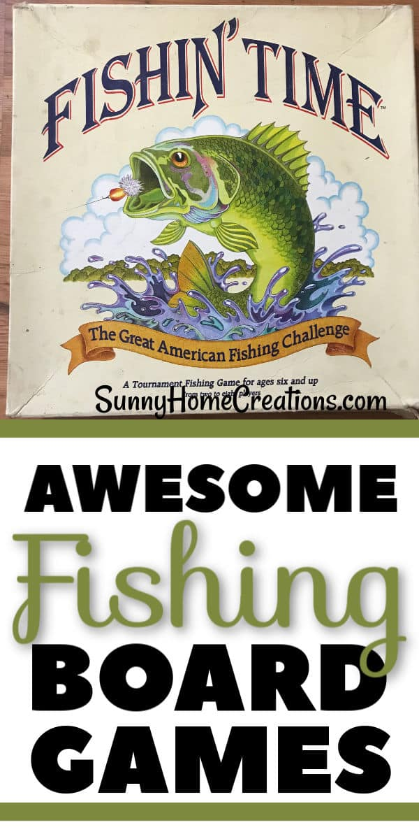 Awesome Fishing Board Games Pin