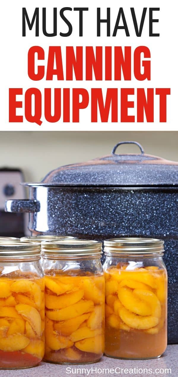 Canning Equipment Supplies