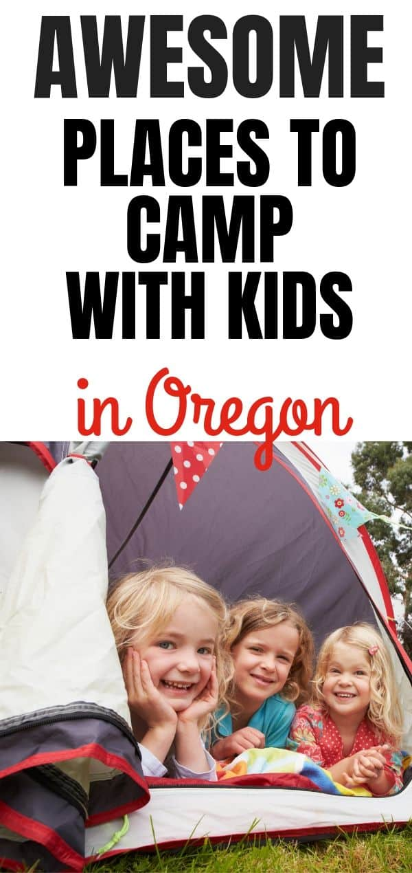 Family Friendly Campgrounds in Oregon