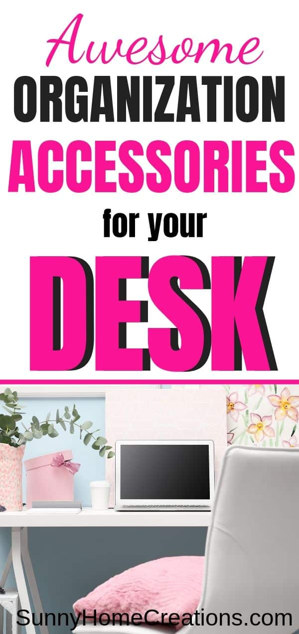 Awesome accessories for your home office desk