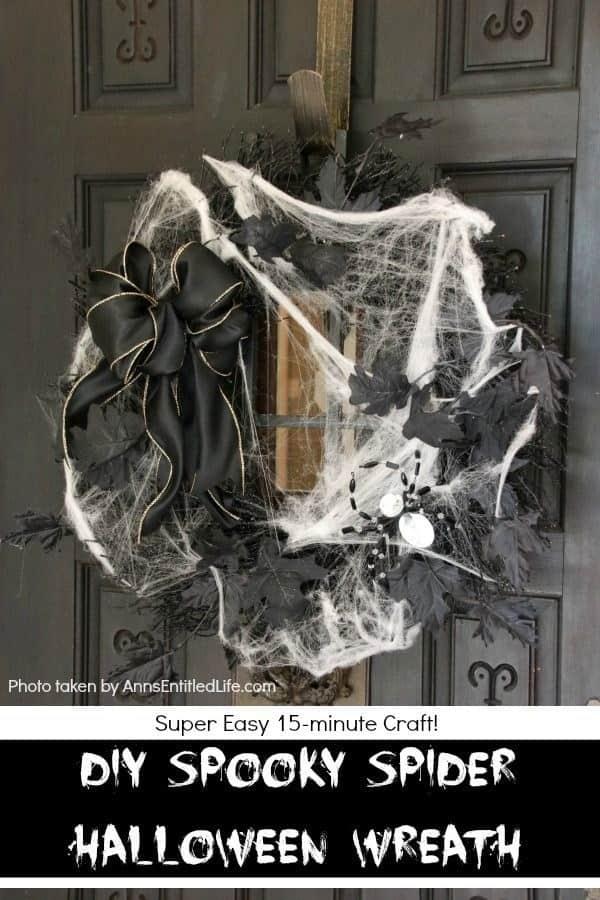 Black Spider Wreath