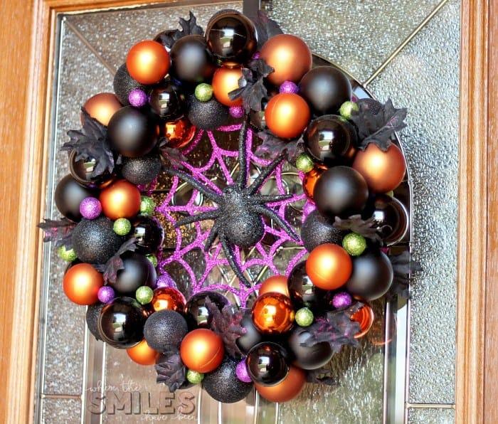 Halloween Ornament Wreath
