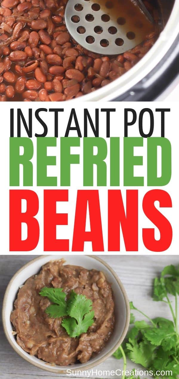 Instant Pot Refried Beans Pin