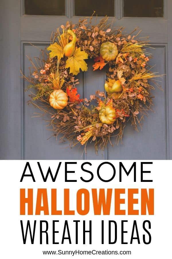 Halloween Wreath Ideas