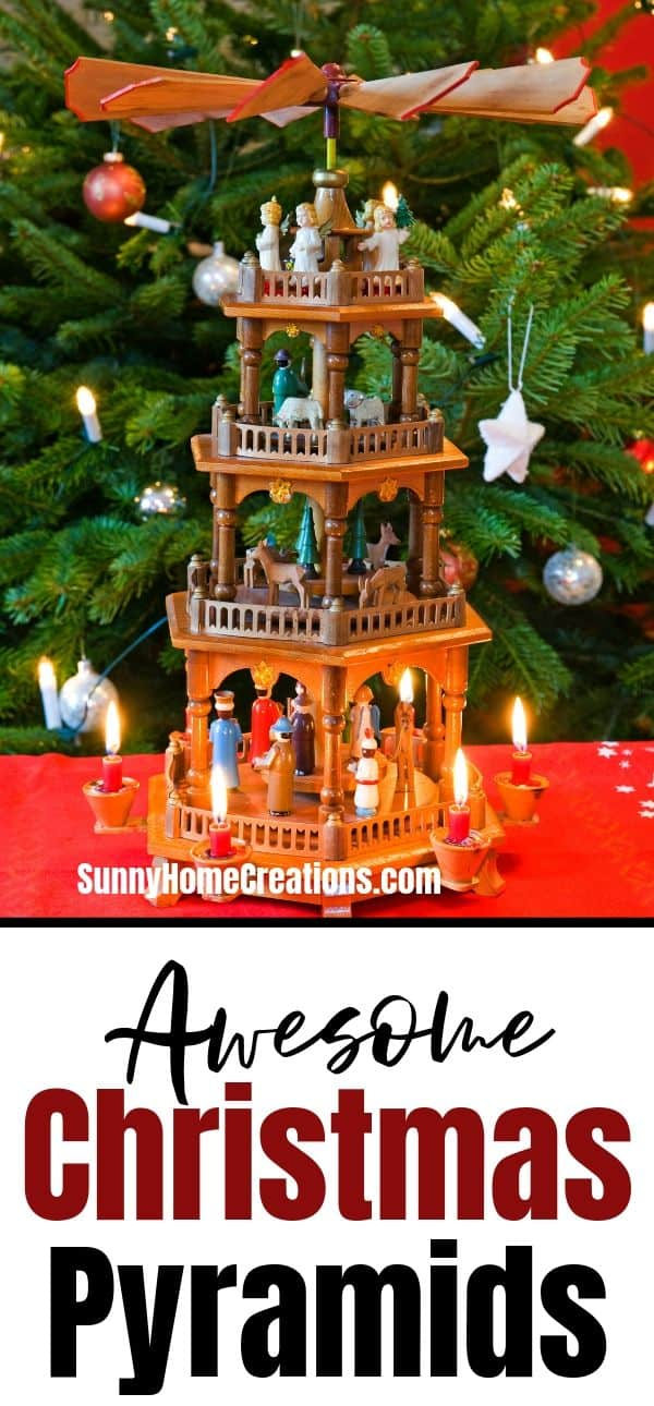 German Christmas Pyramid Pinterest Image