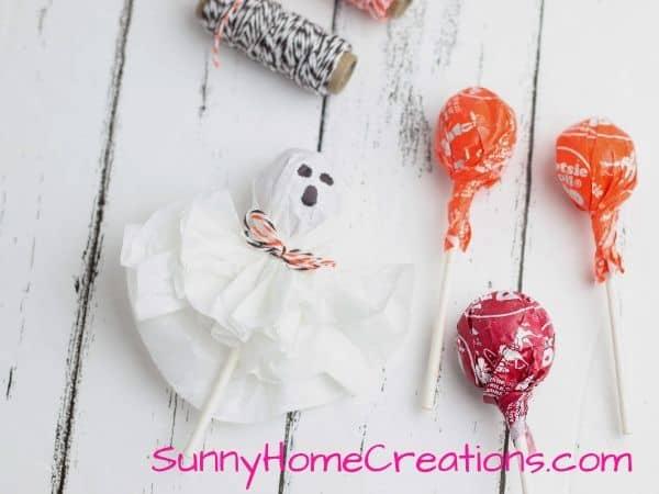 Halloween Ghost Lollipop