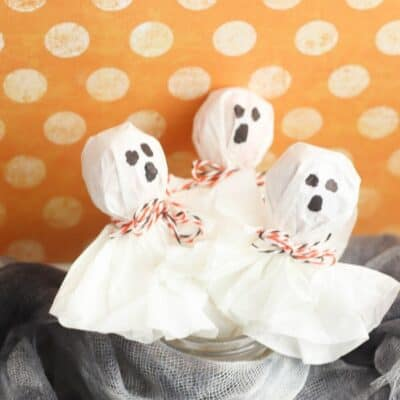 How to Make Ghost Lollipops