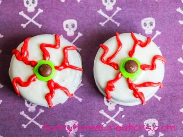 Bloodshot Oreo Eyeballs