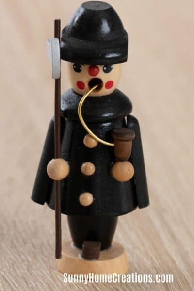 German Smoker Christmas Decoration