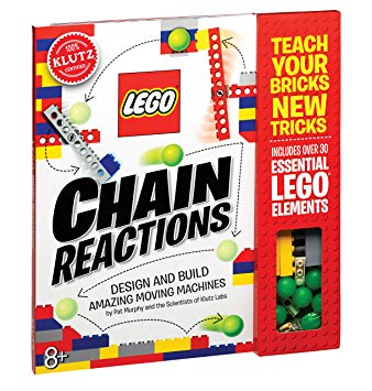Klutz Lego Chain Reactions Science & Building Kit, Age 8