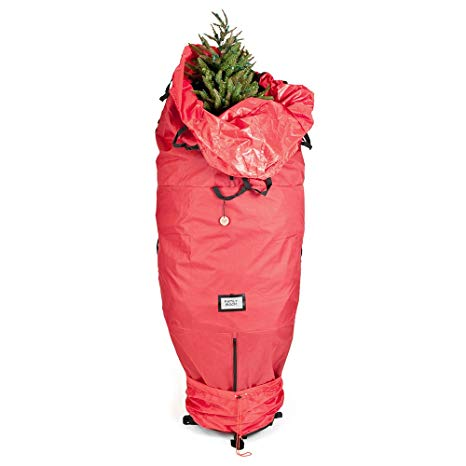 Red Upright Tree Storage Bag