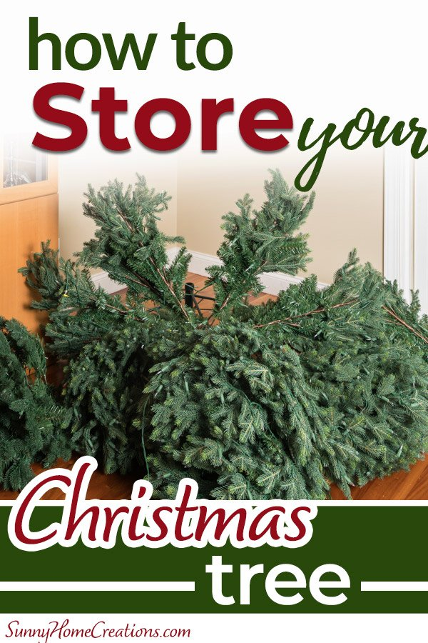 How to store your Christmas Tree Pin